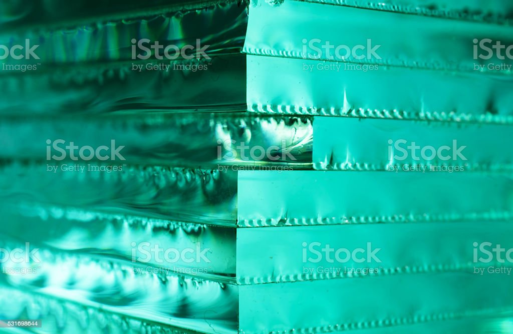Abstract  background with stack of glass sheets. stock photo