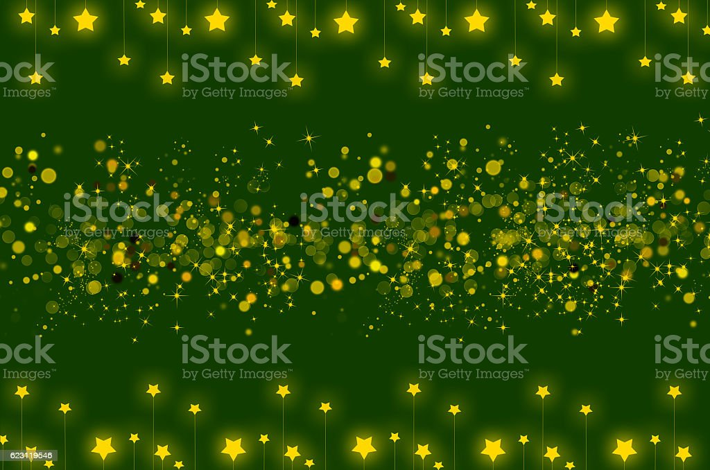 Abstract background with star shining and bokeh stock photo