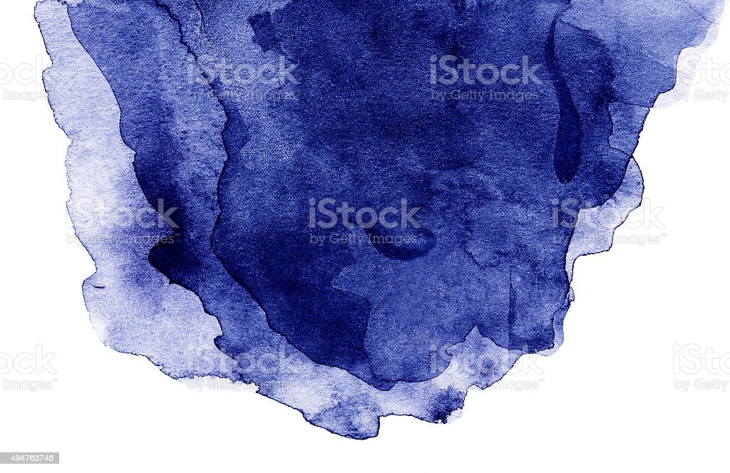 Abstract  Background with water color blue waves isolated stock photo