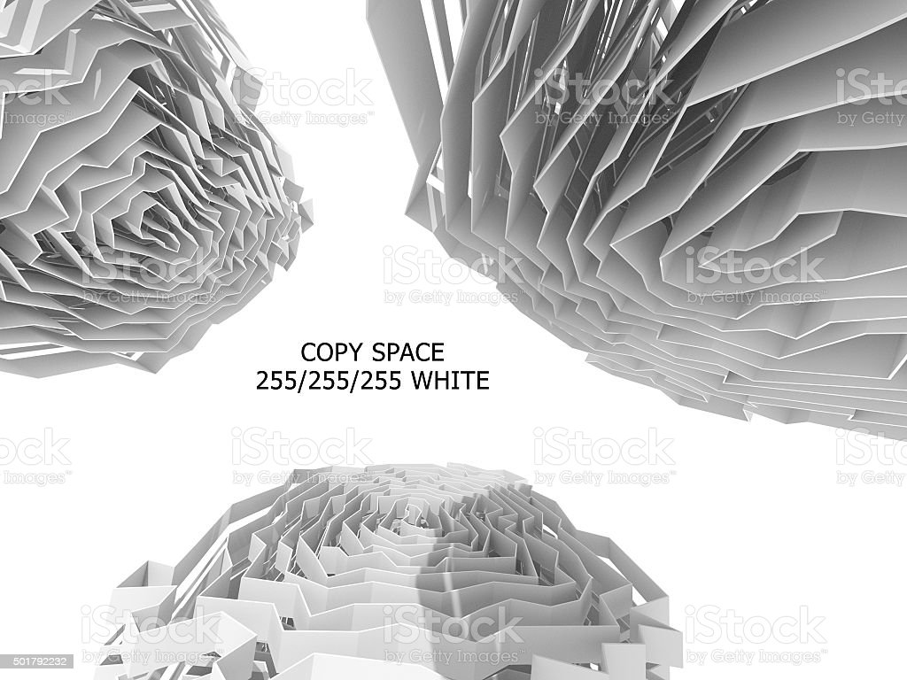 Abstract background with white copy space stock photo