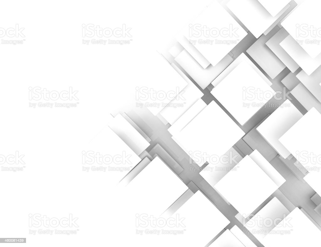 Abstract background with white squares royalty-free stock photo
