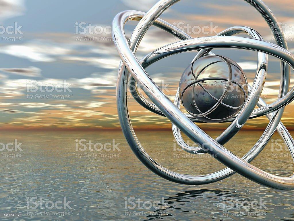 abstract balls royalty-free stock photo