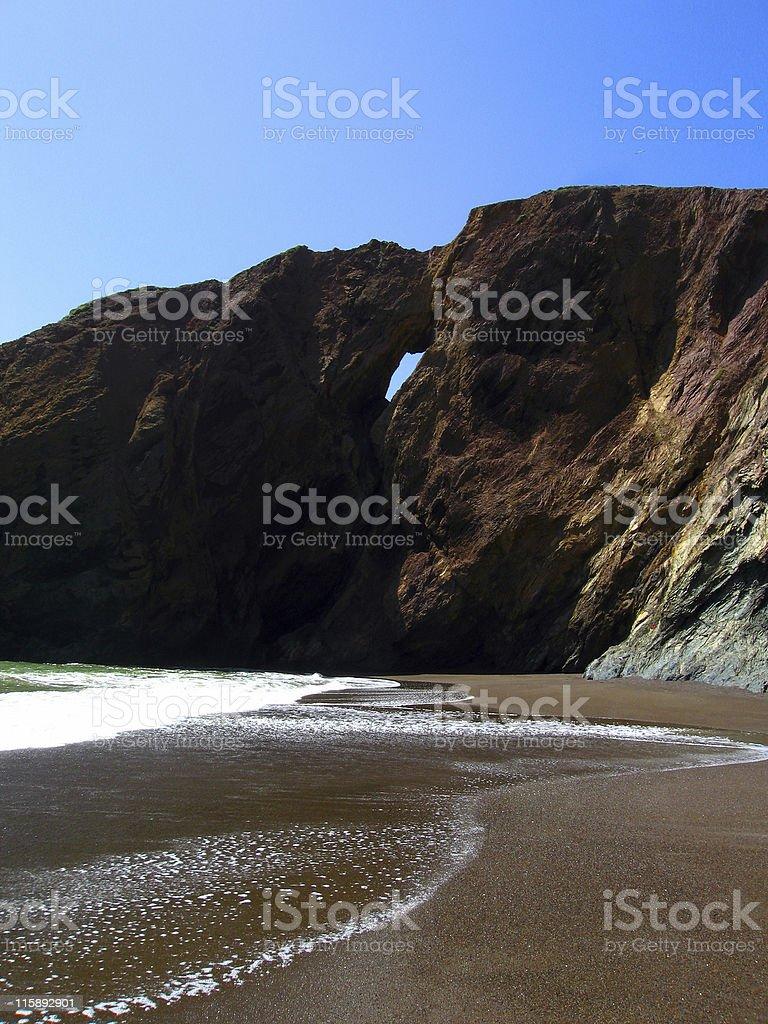 Abstrait de la plage photo libre de droits
