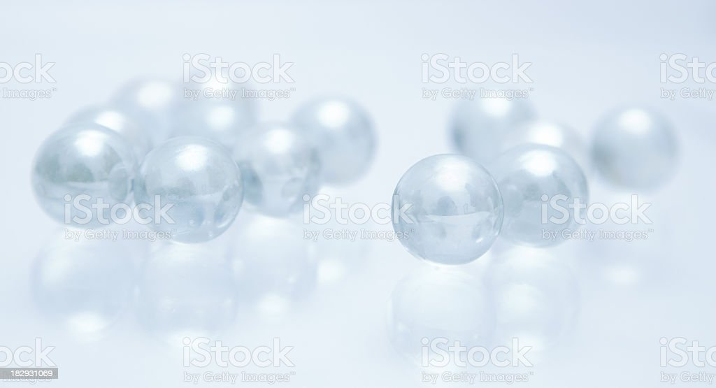 Abstract beads royalty-free stock photo