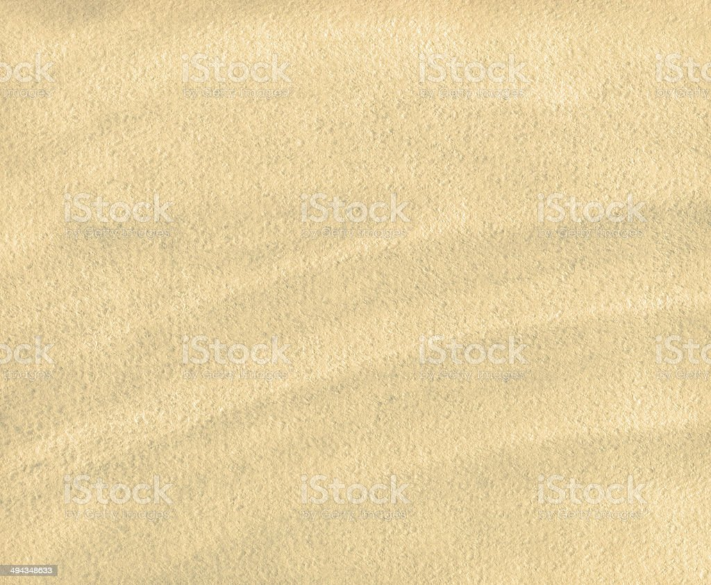 Abstract beige watercolor paper texture or background stock photo