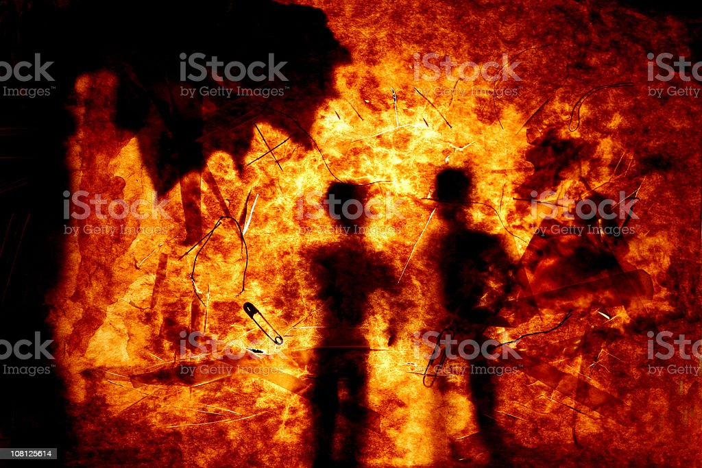 Abstract Beings stock photo