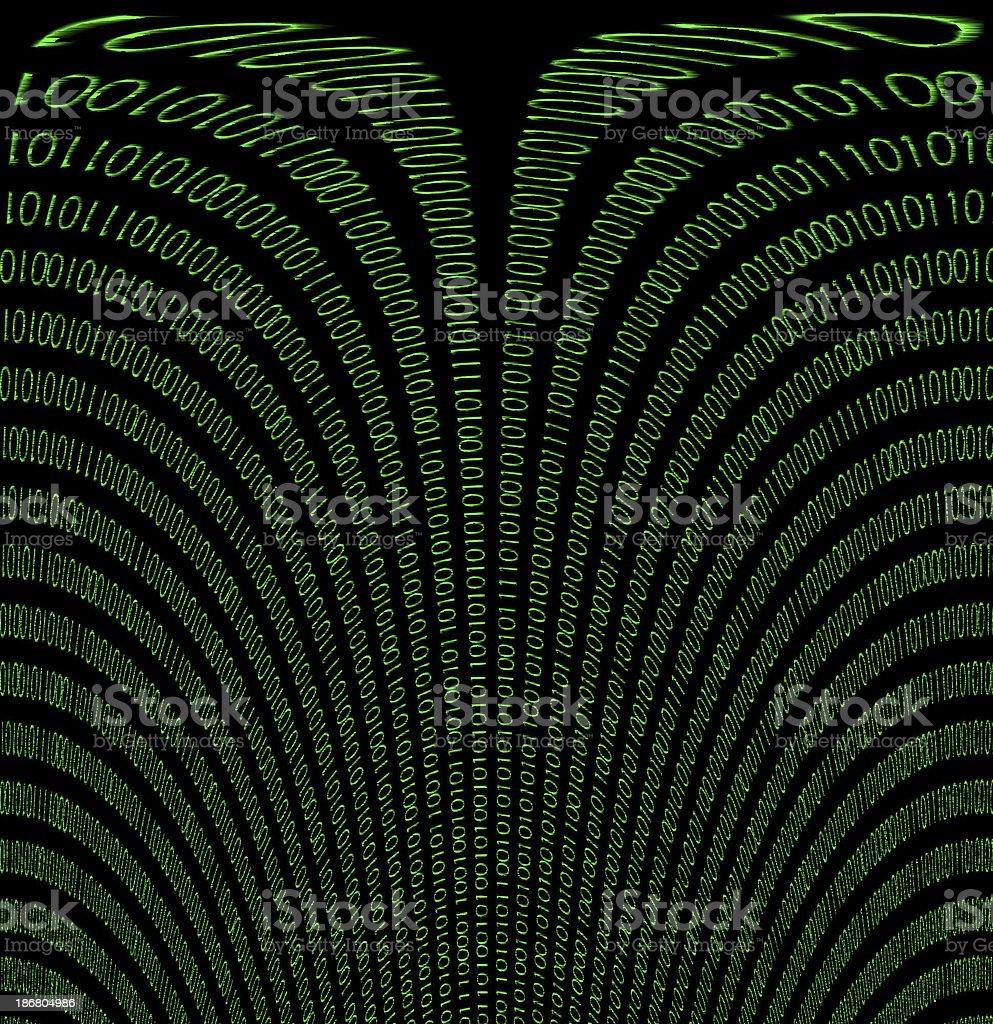 abstract binary royalty-free stock photo