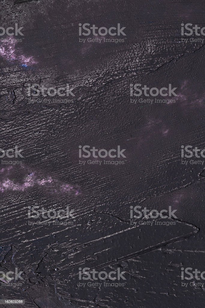 Abstract black acrylic painted background royalty-free stock photo