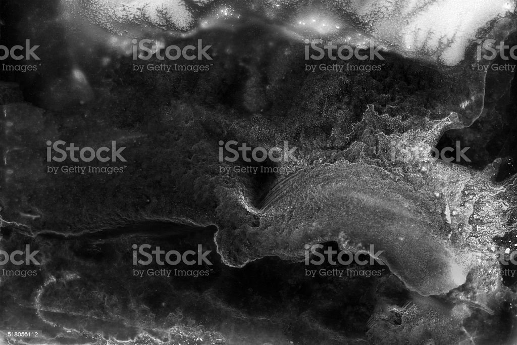 Abstract black backgroud. Dark grunge texture background. stock photo
