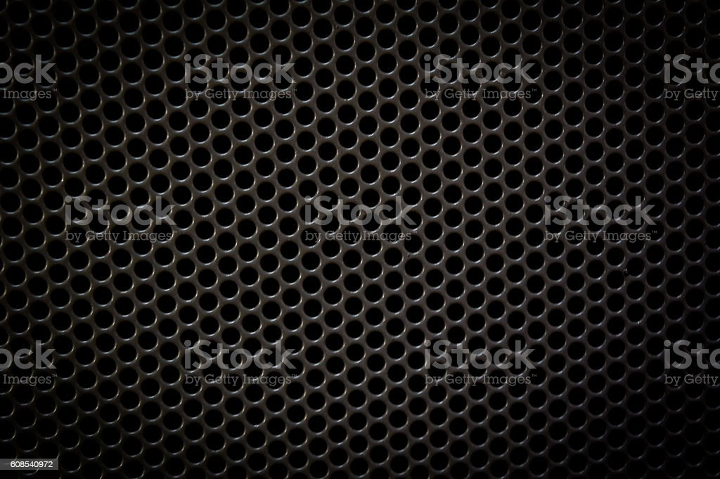 abstract black dots pattern background,dark style stock photo