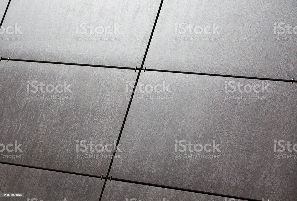 Abstract black tile background stock photo