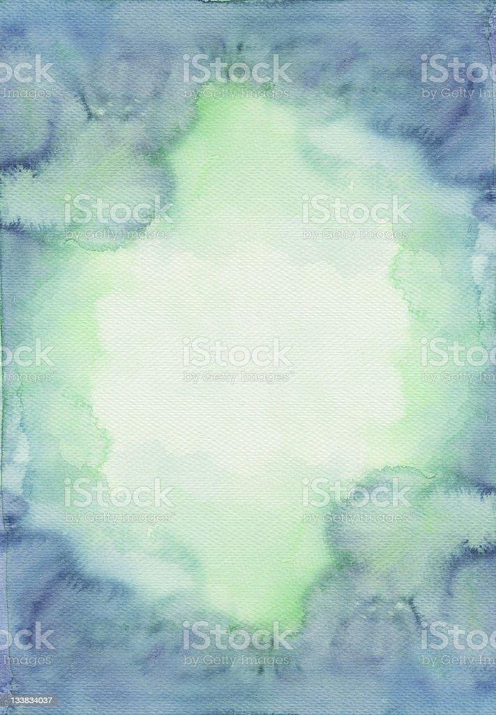 Abstract blank watercolors royalty-free stock photo