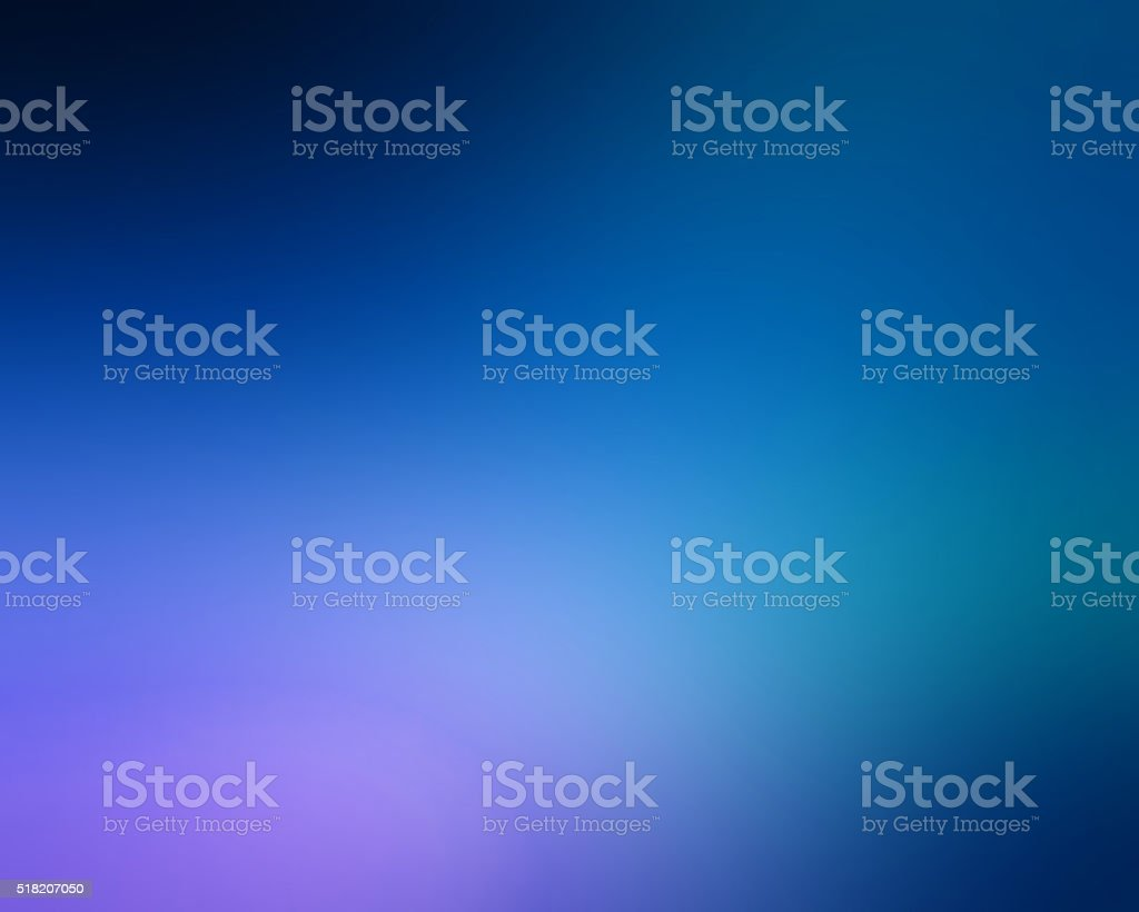 Abstract Blue and Light Purple Color Gradient Background stock photo