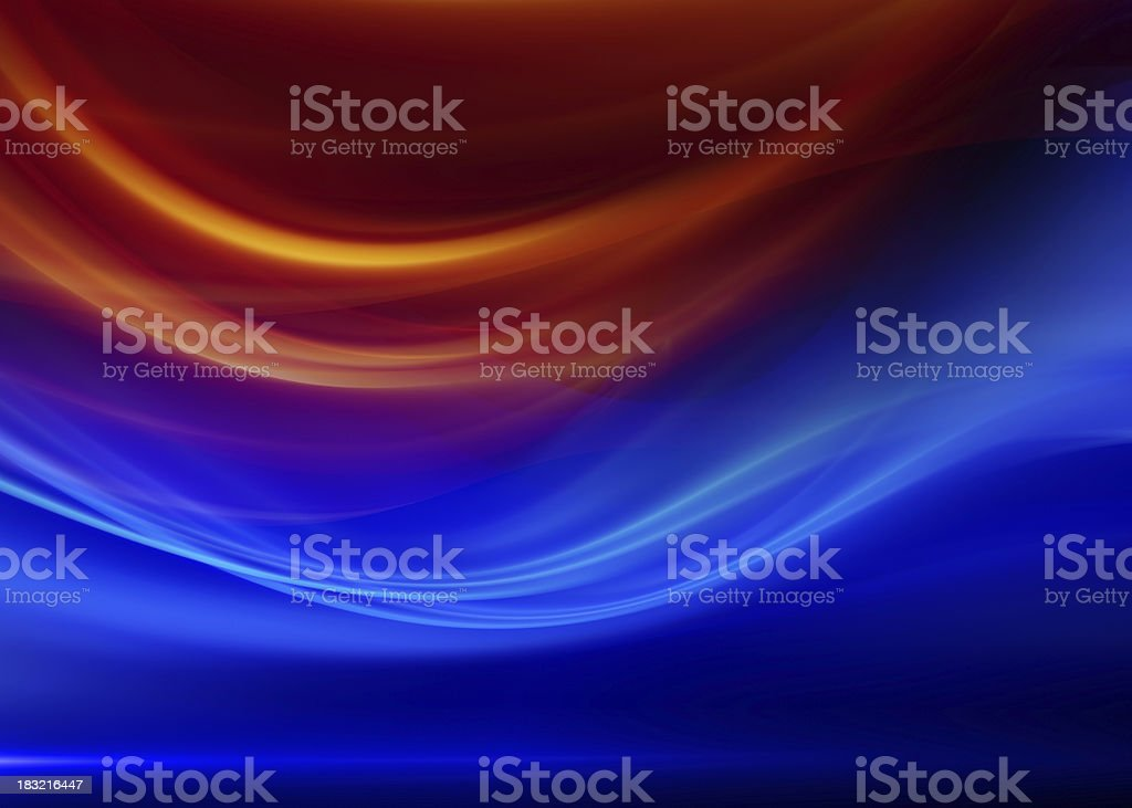 Abstract Blue and Red Background Textures royalty-free stock photo