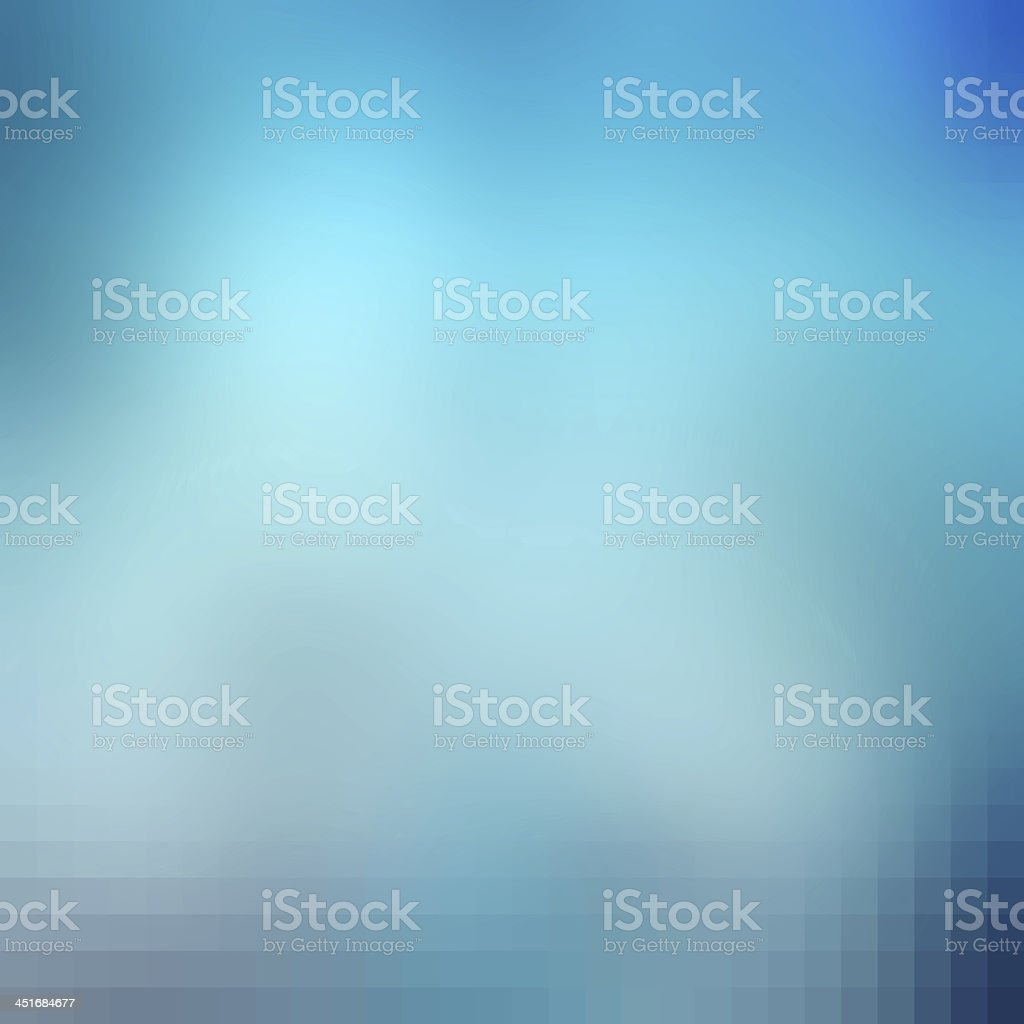 Abstract blue and white background vector art illustration