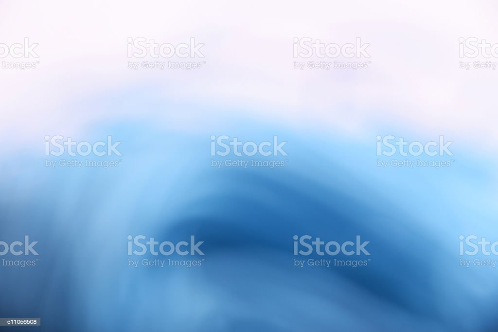 Abstract blue and white cloudy wave background royalty-free stock photo