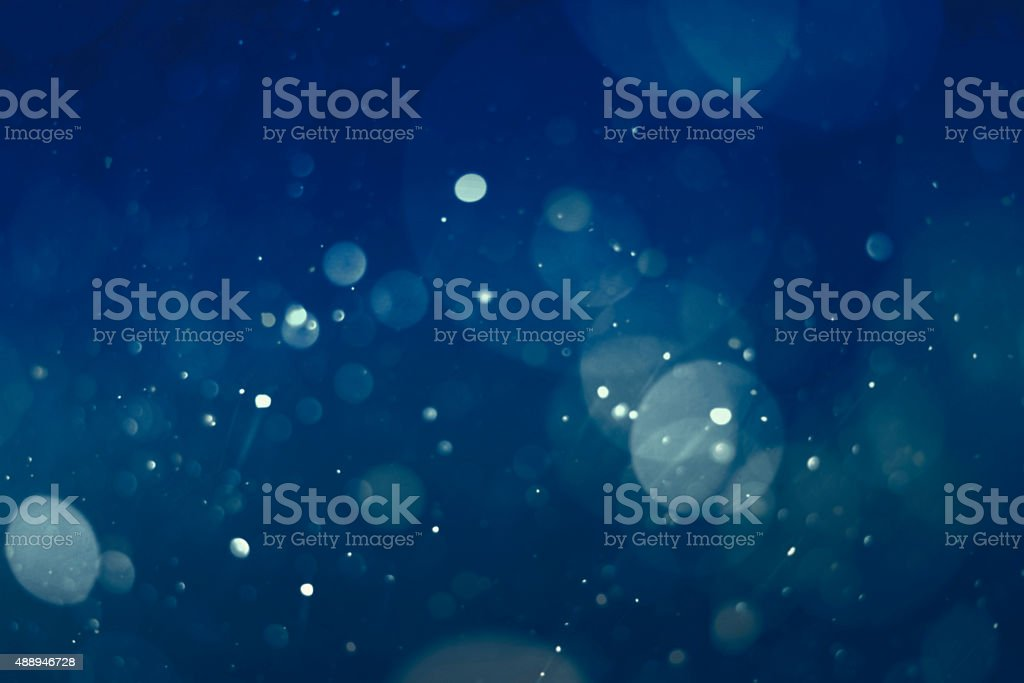 abstract blue bokeh background stock photo