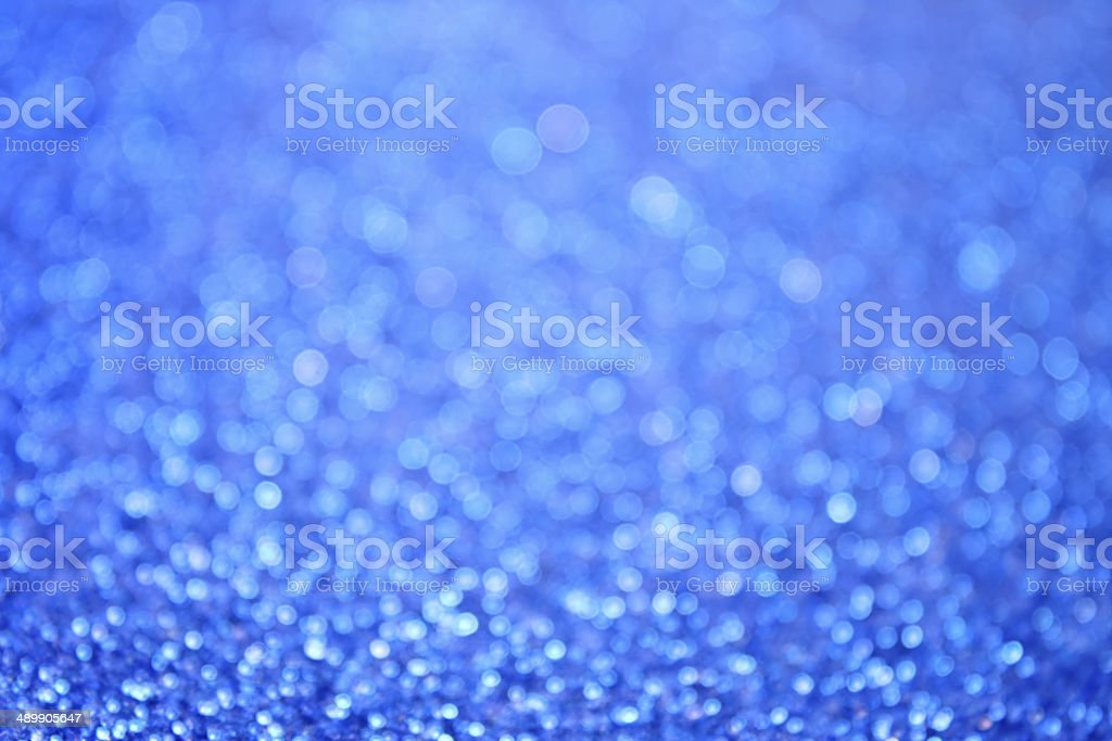 Abstract Blue Bubbles Background royalty-free stock photo
