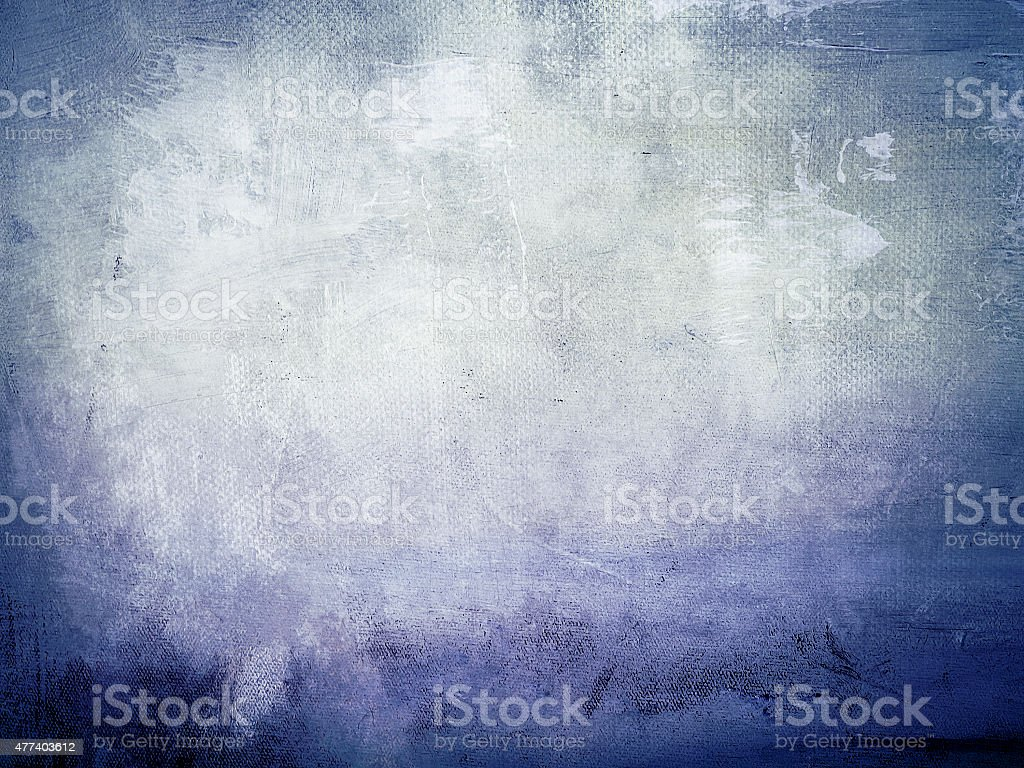 abstract blue canvas background stock photo