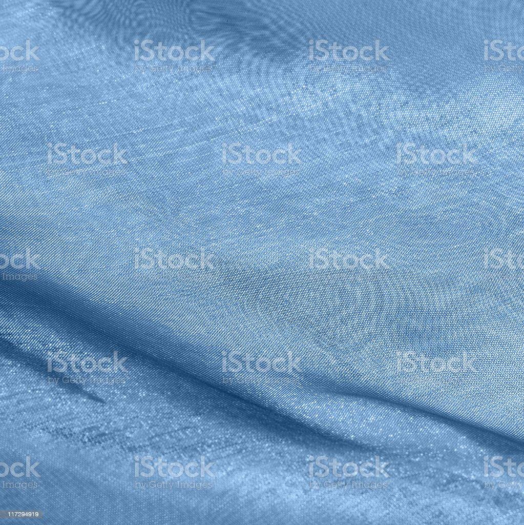 abstract blue fabrics royalty-free stock photo