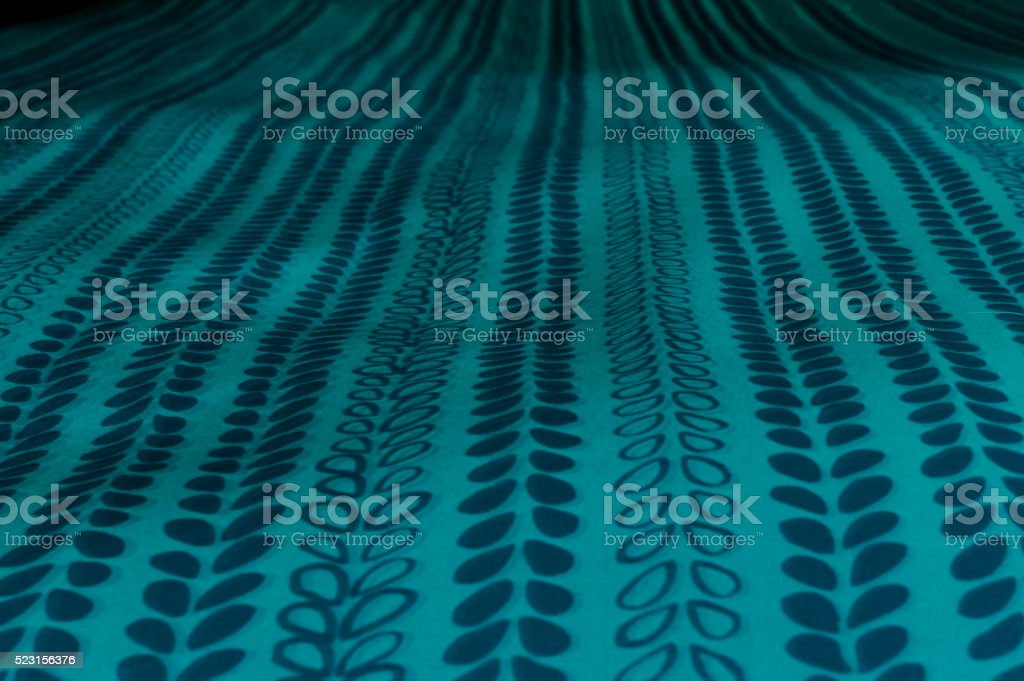 Abstract Blue Flower Petal Pattern stock photo