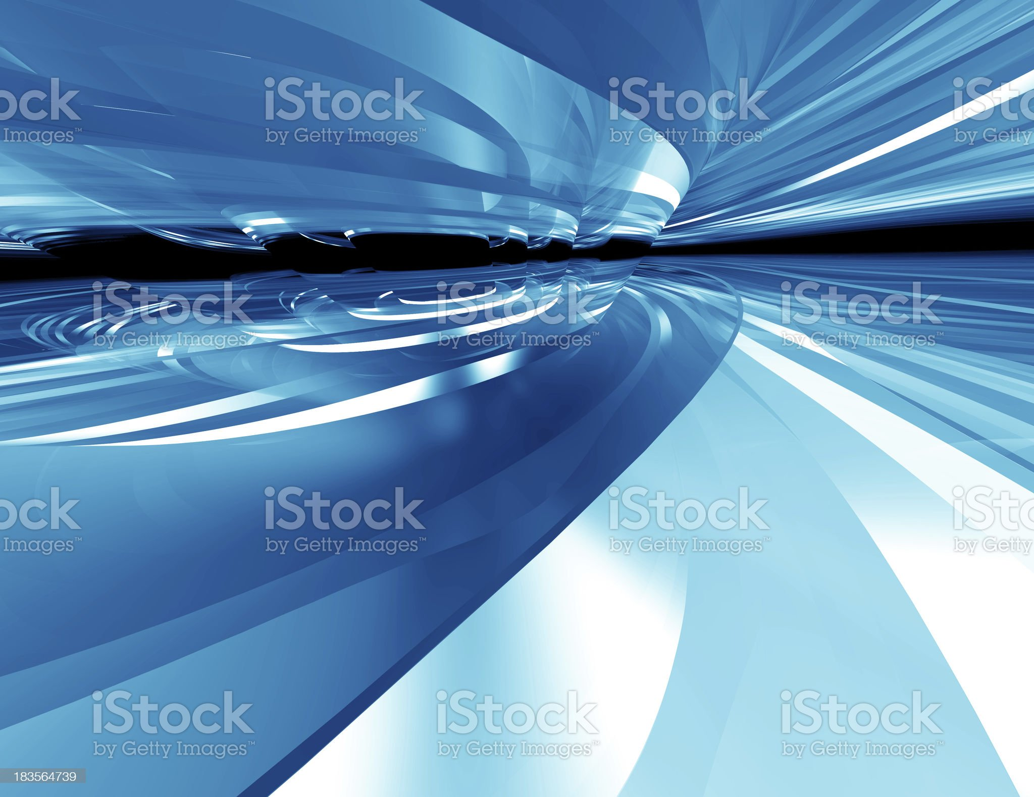 Abstract Blue Glass,concept background royalty-free stock photo