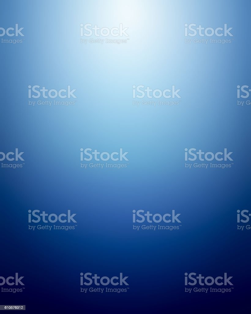 Abstract Blue Gradient Background stock photo