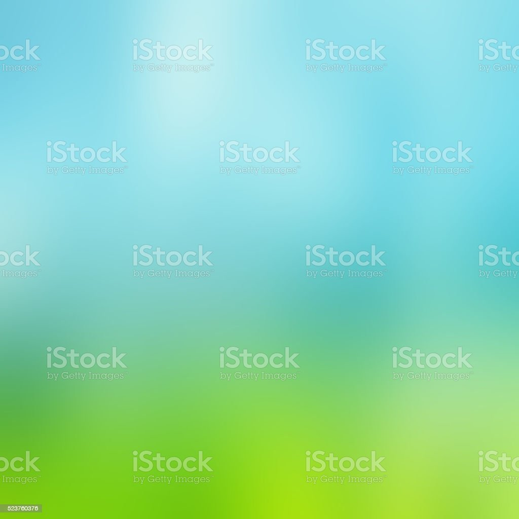 Abstract  Blue Green Technology and Science Modern Background stock photo