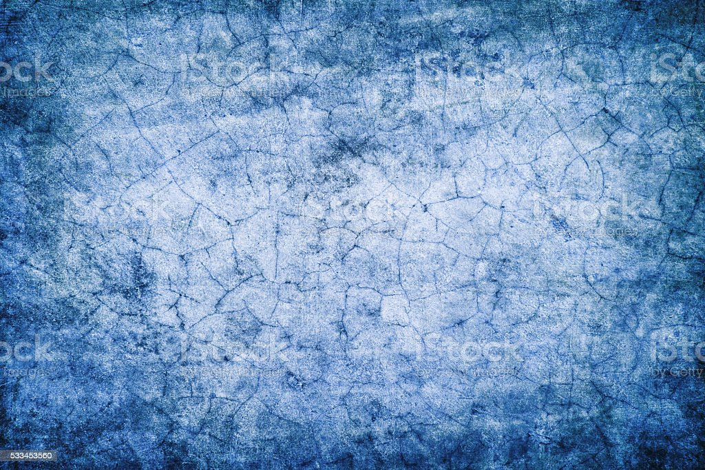 Abstract blue grunge background stock photo