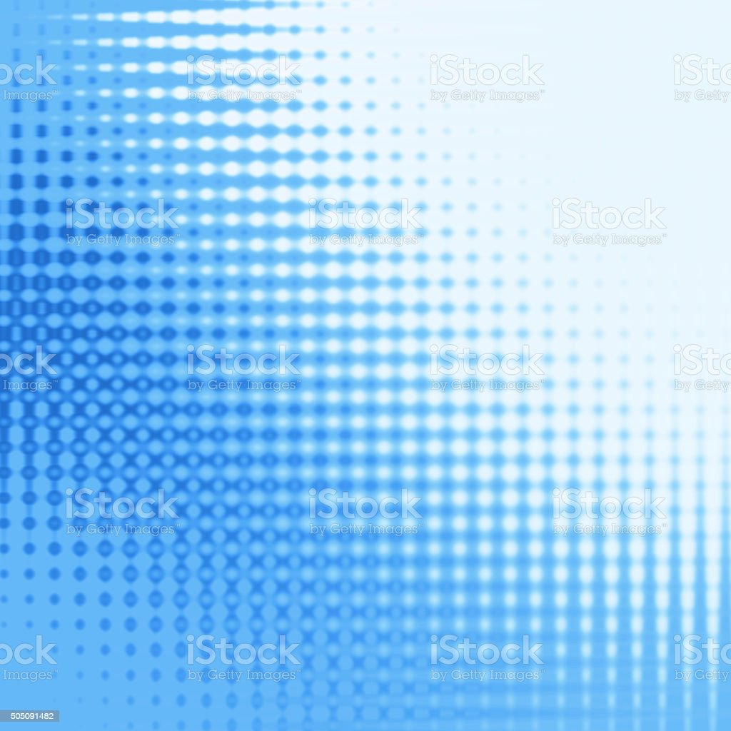 Abstract Blue Halftone Background stock photo