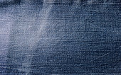 Abstract blue jean fabric texture