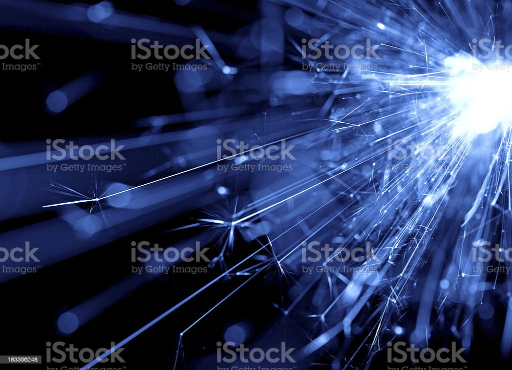 abstract blue light background stock photo
