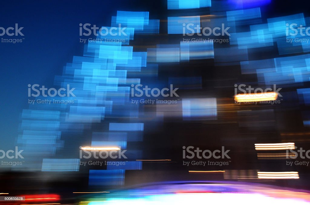 abstract blue light pattern motion background stock photo