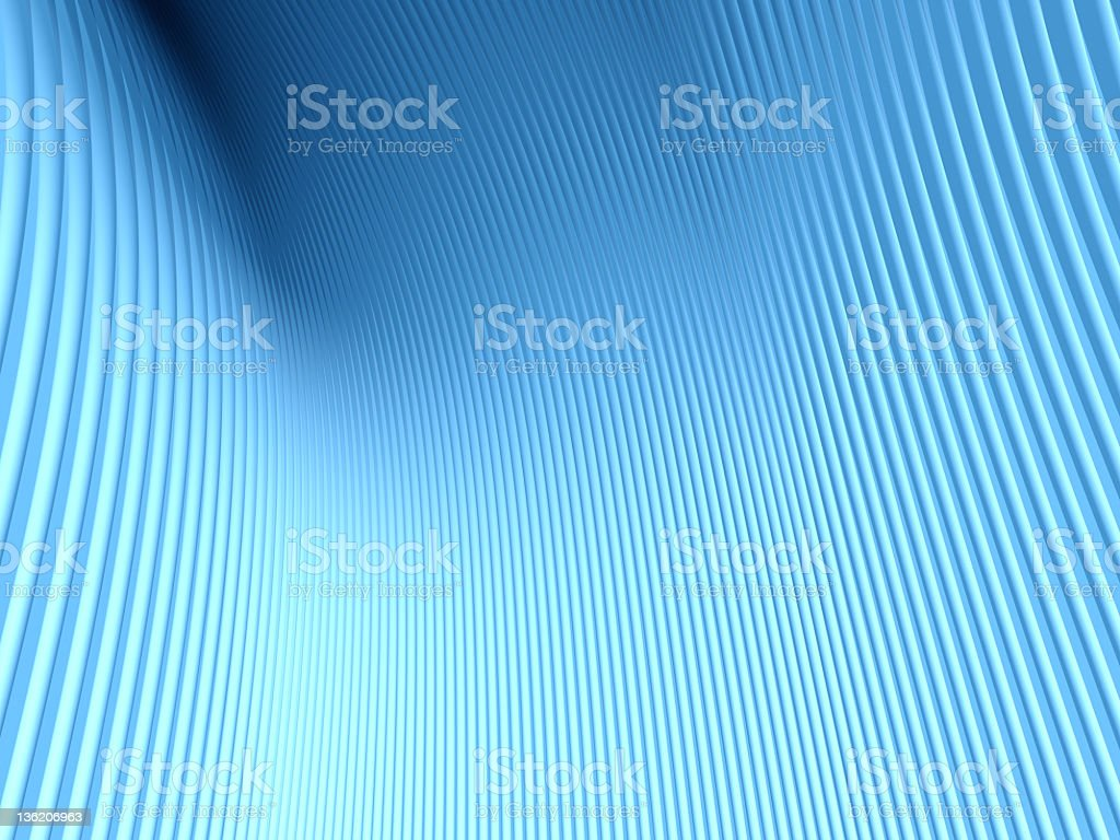 Abstract blue lines royalty-free stock photo