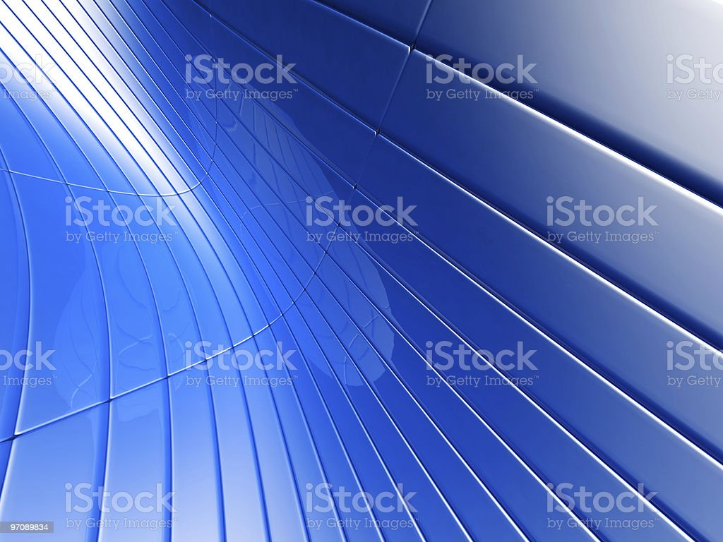 Abstract blue metalic luxury background royalty-free stock photo