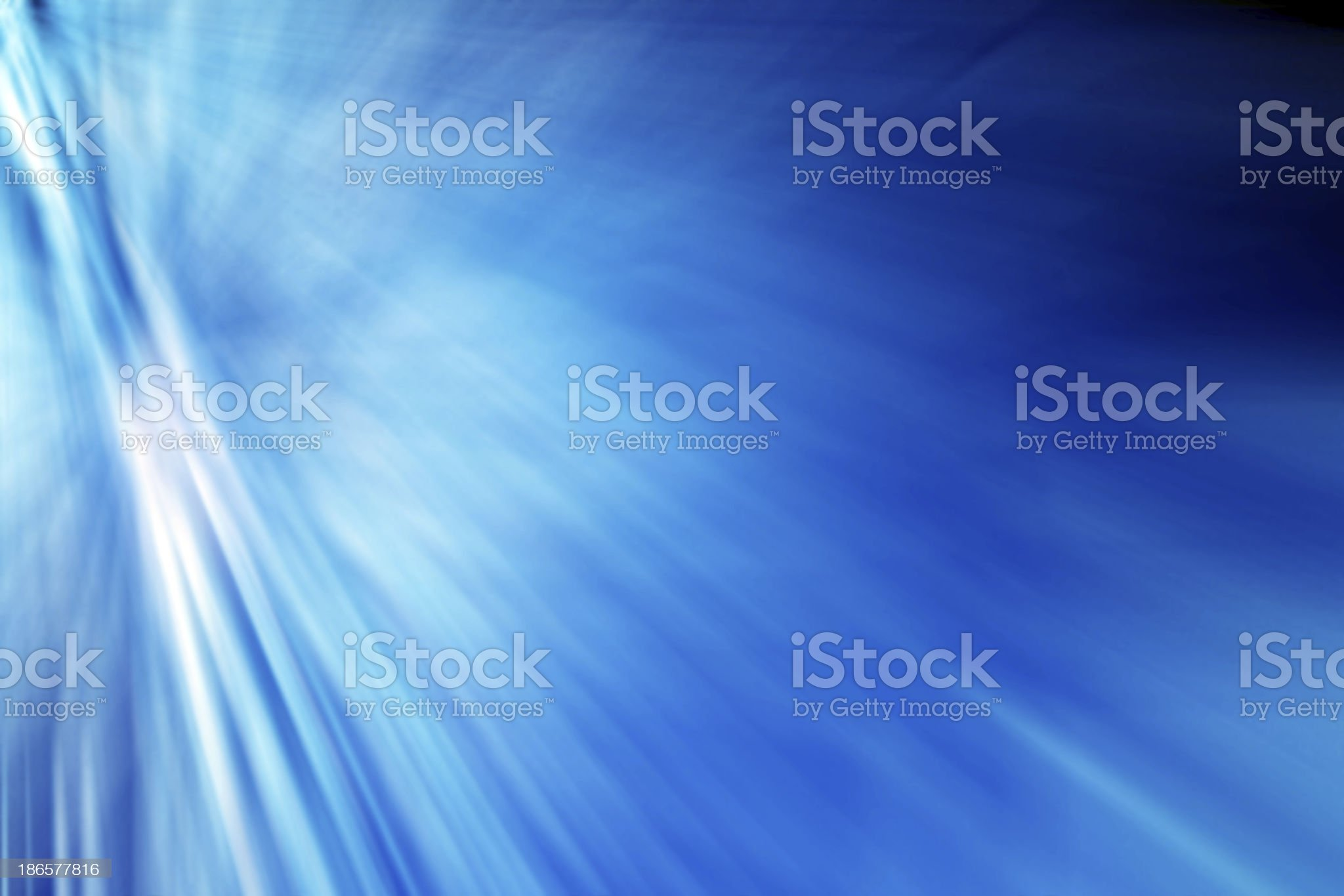 Abstract Blue royalty-free stock photo
