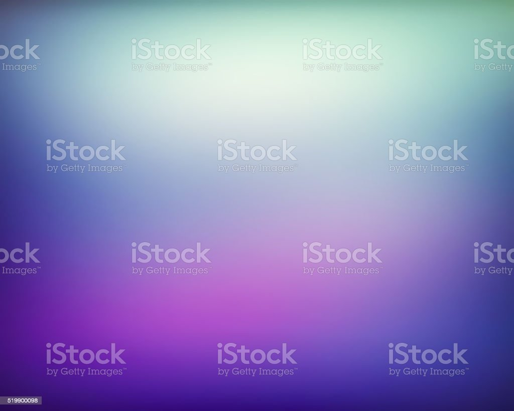 Abstract Blue, Purple and Ligth Green Color Gradient Background stock photo