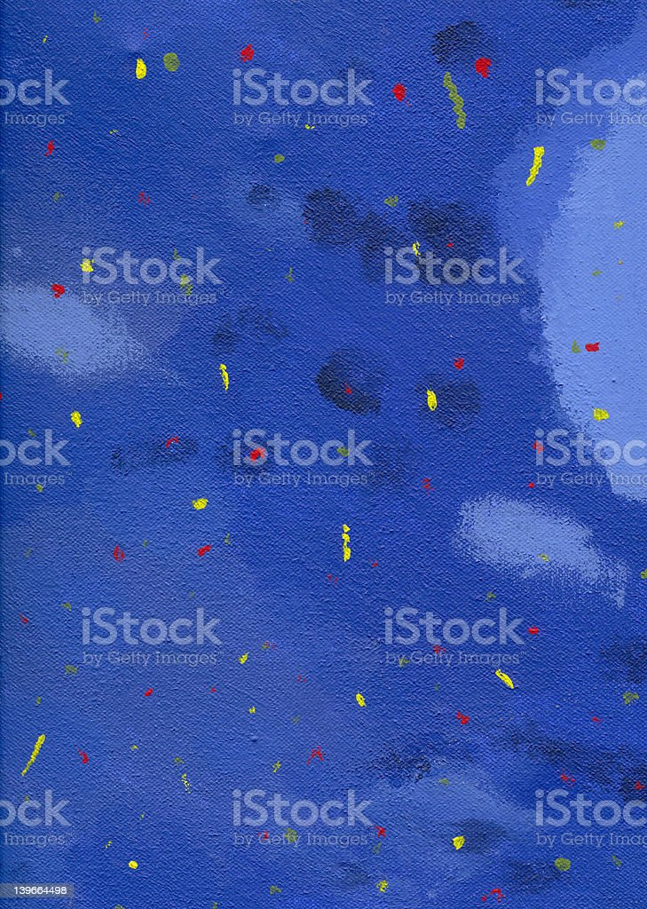 abstract blue red yellow stock photo