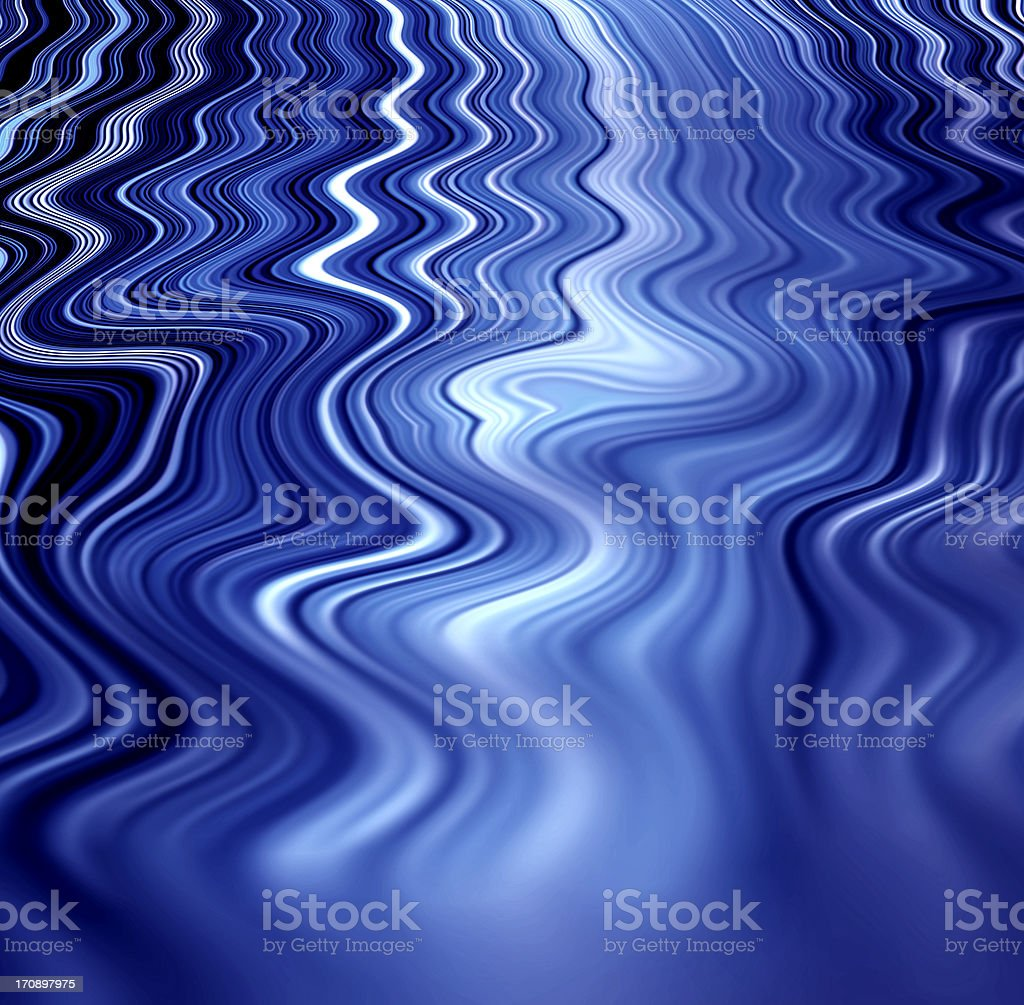 Abstract blue ripples stock photo