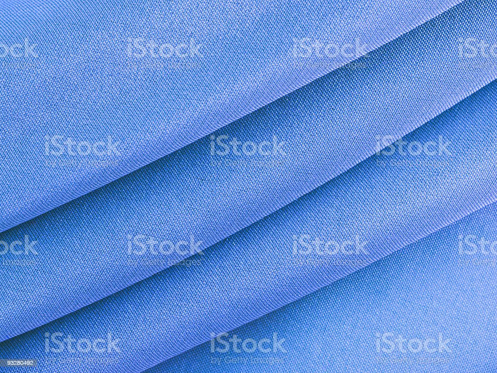 Abstract blue silk fabric texture royalty-free stock photo