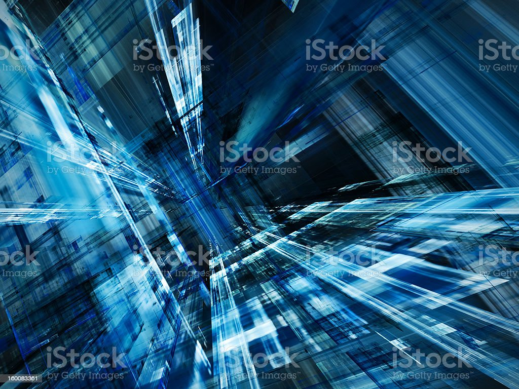 Abstract blue texture royalty-free stock photo