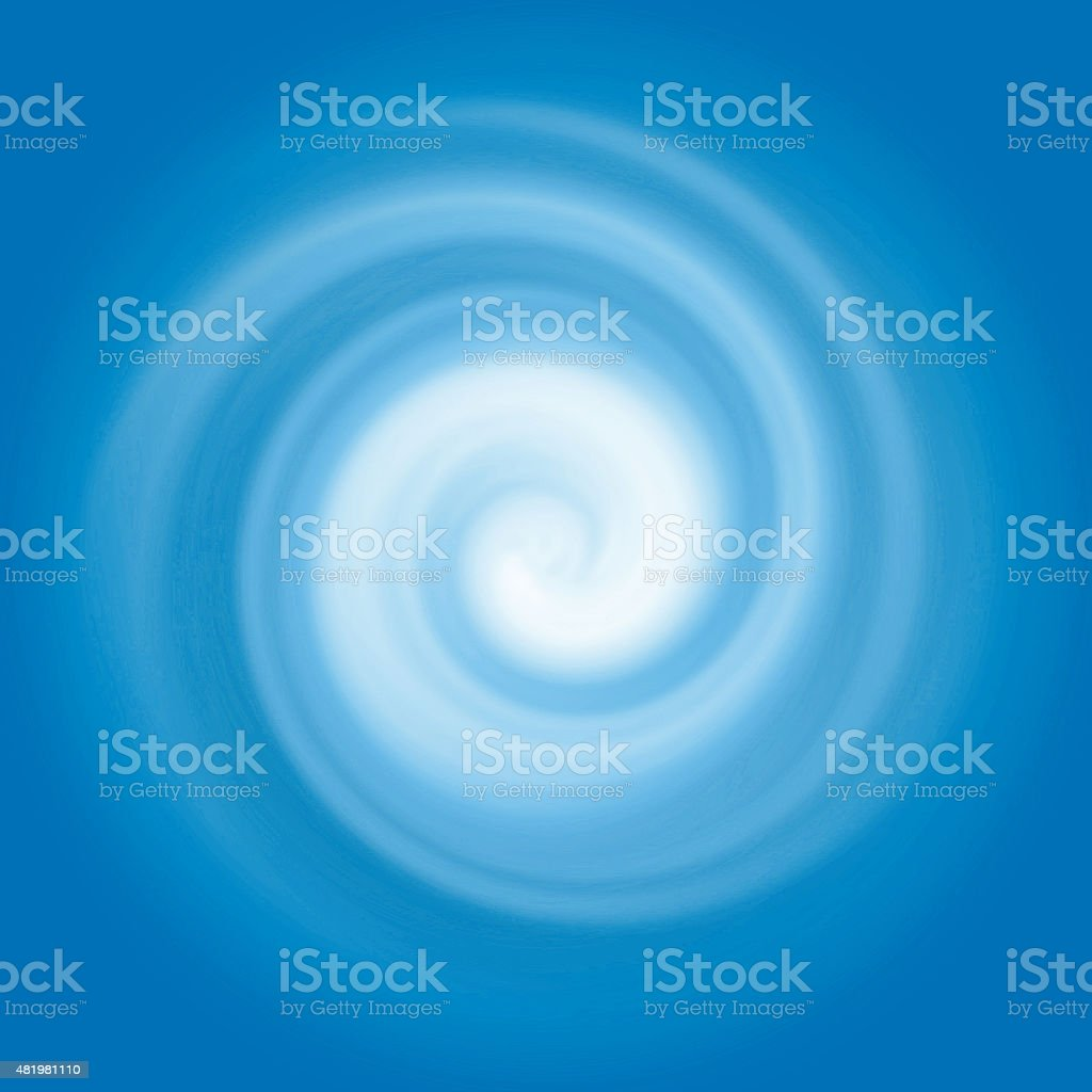 Abstract blue water swirl. stock photo