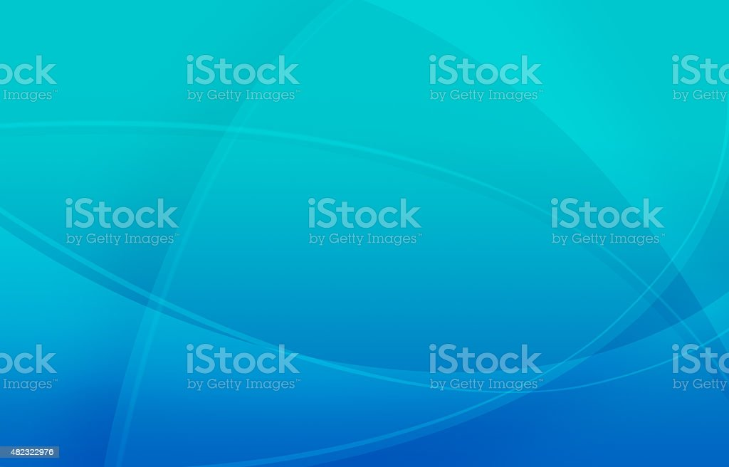 Abstract Blue-Turquoise Background vector art illustration