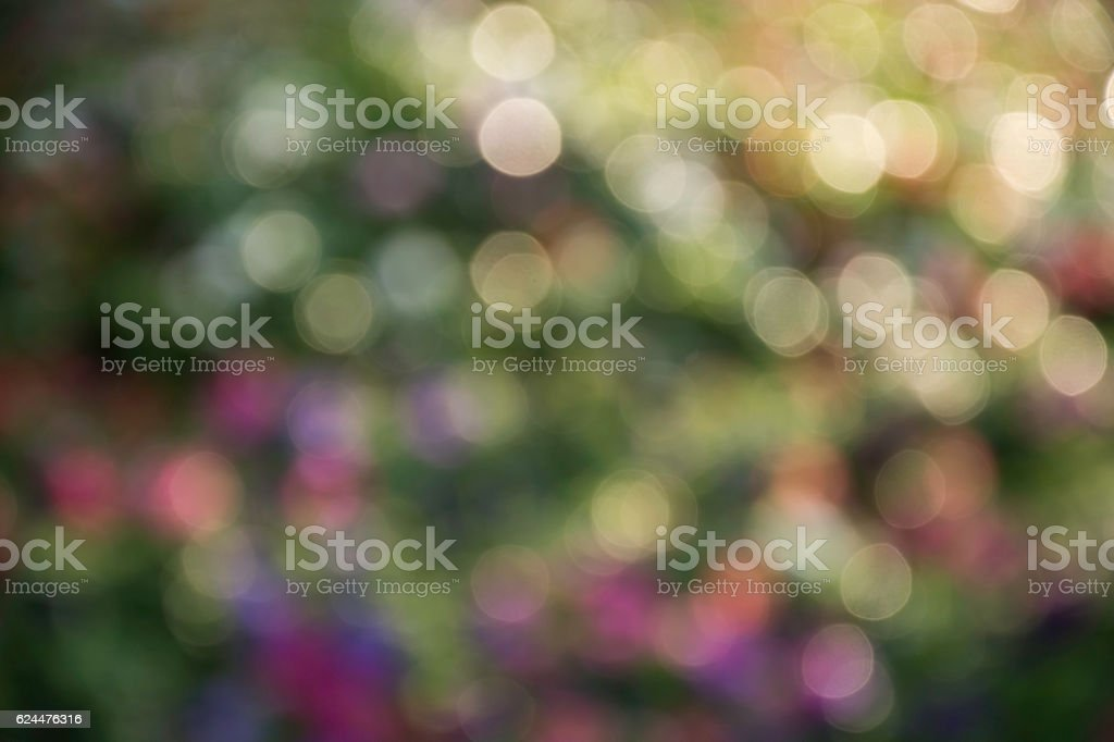 Abstract blur city park bokeh background, abstract colorful background royalty-free stock photo