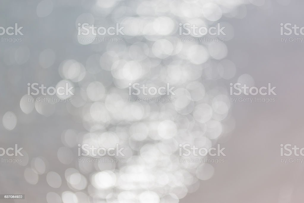 abstract blur light on sea white background stock photo