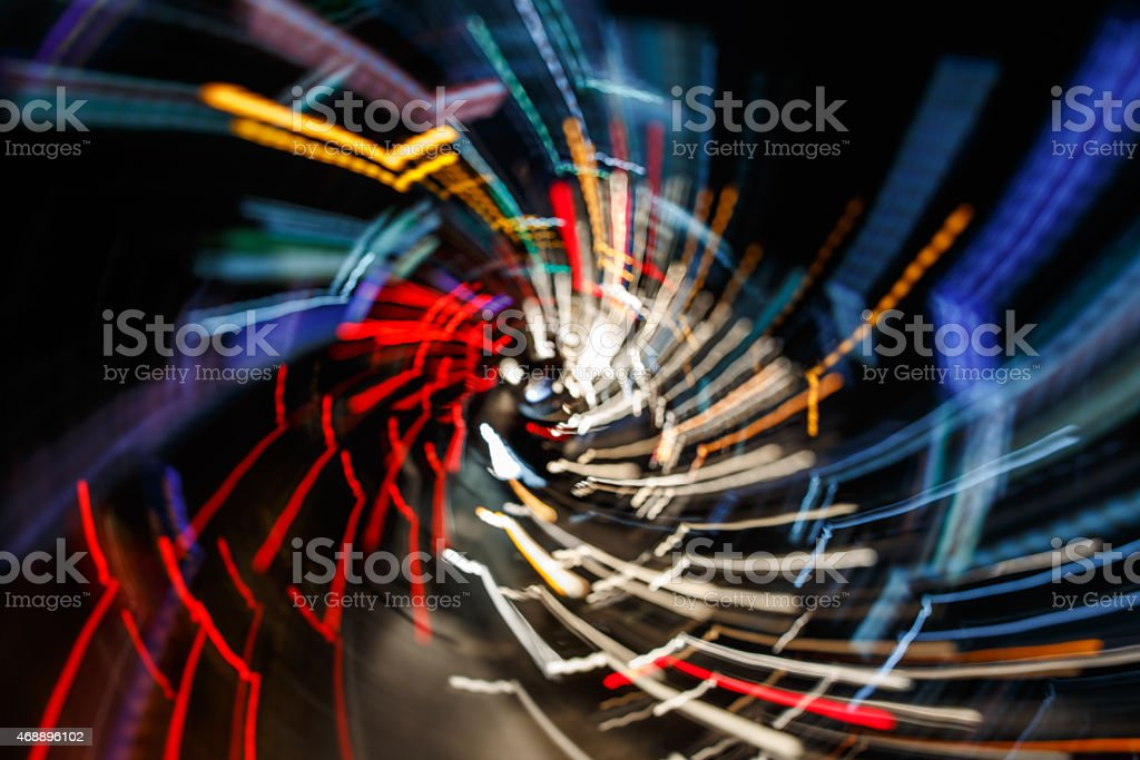abstract blur spin background stock photo
