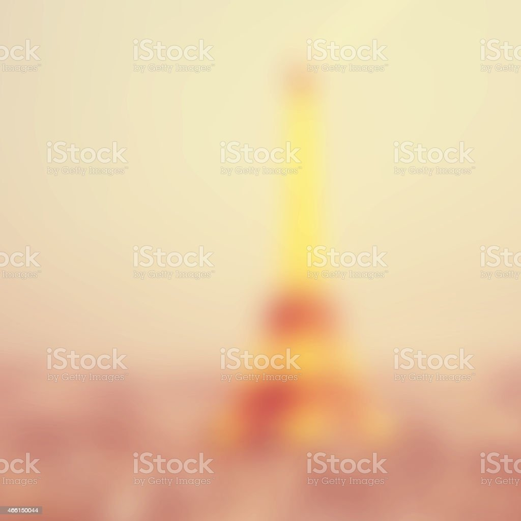 Abstract blurred background of Paris. stock photo