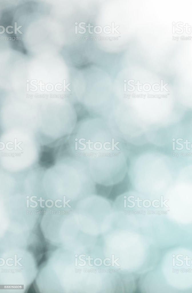 Abstract blurred white and blue background stock photo