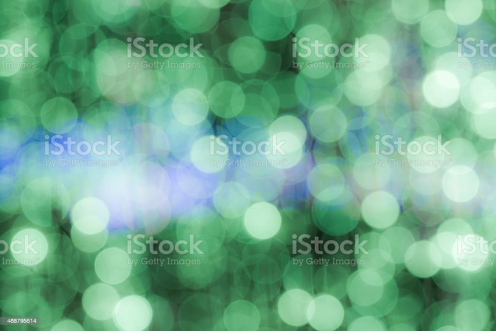 Abstract blurry circular bokeh background stock photo