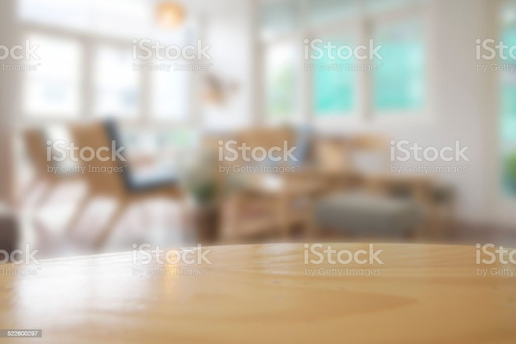 Abstract blurry restaurant stock photo